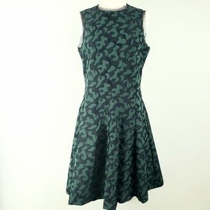 Pink Tartan 'Alvina' Jigsaw Jacquard Dress Size 6